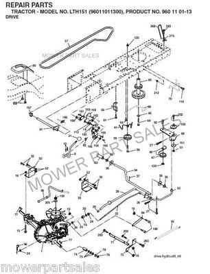 Husqvarna Lawn Mower Deck Diagram on wiring diagram for cub cadet zero turn mower