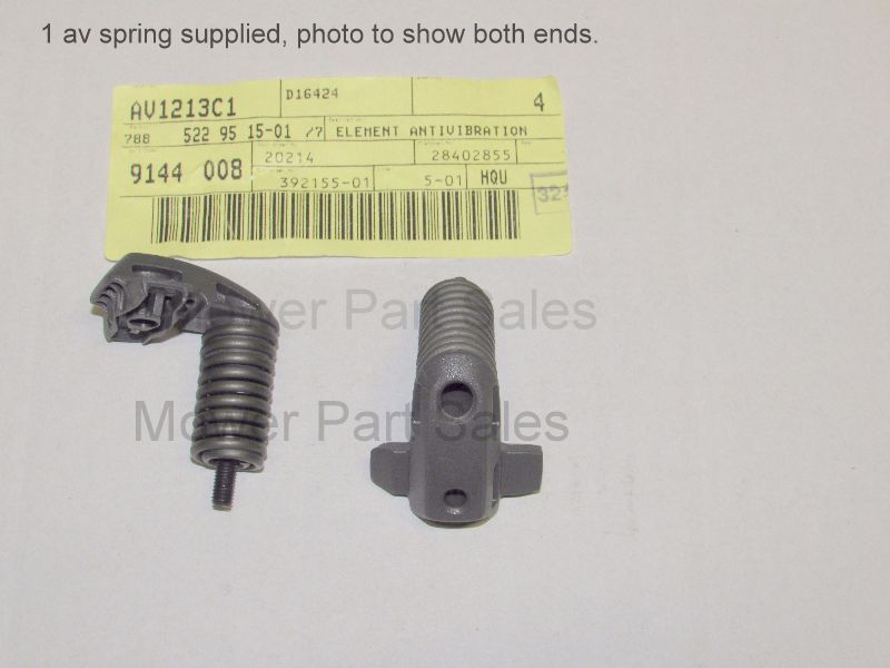 Anti Vibration AV Handle Mount Spring Fits Husqvarna 545, 550XP, 550XPG 522951501, 522 95 15-01
