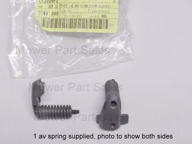 Anti Vibration AV Handle Mount Spring Fits Husqvarna 555, 555, 560XP, 562XP Chainsaws 505129702, 505 12 97-02