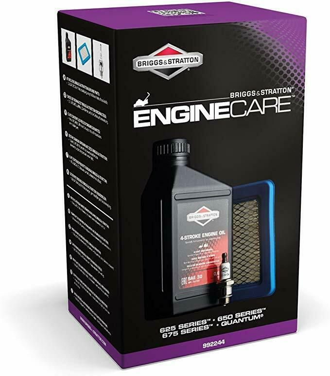 Genuine Briggs & Stratton 992244 Engine Care Service Kit 625E 650E 675E Quantum