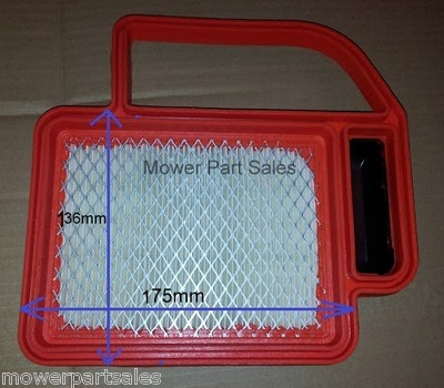 Mountfield 1636 Air Filter Fitted With Kohler Engine SV470, SV480, SV530, SV540, SV590, SV600, SV610, SV620 - 20 083 02-S, 20-083-02-S